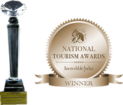 Most Innovative Tour Operator - National Tourism Award 2011-12 - Ministry of Tourism GOI